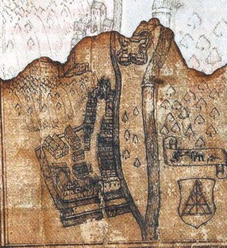 1613 Bildliche Darstellung Hausach Von 1655