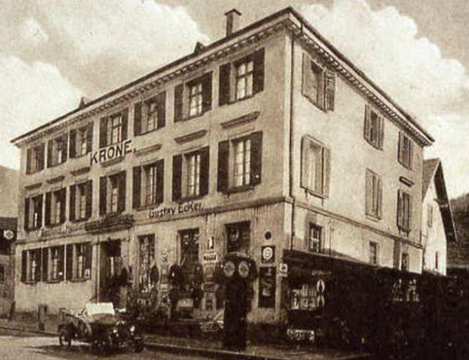 1648 Krone Wirtshaus Um 1910