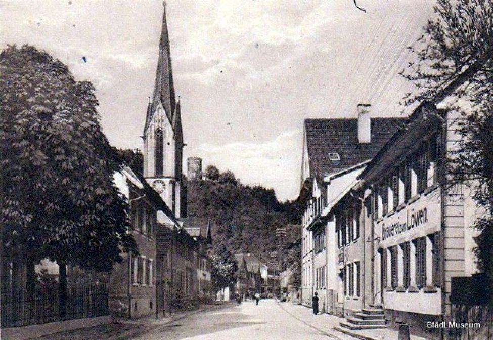 1894 B01 Loewen01 Brauerei Hauptstrasse