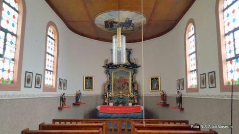 1646 Innenraum Martinskapelle Restaurierung Von Fam Kohmann