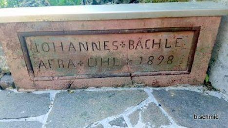 1493 Johannes Baechle Gedenkstein 20180422 103042