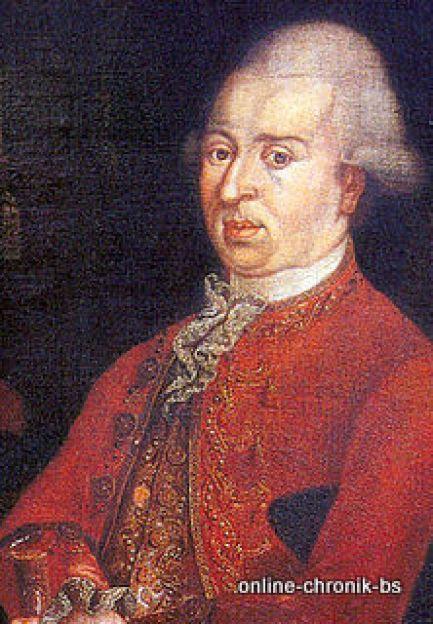 1787 01 Fuerst Joseph Maria Benedikt Zu Fuerstenberg