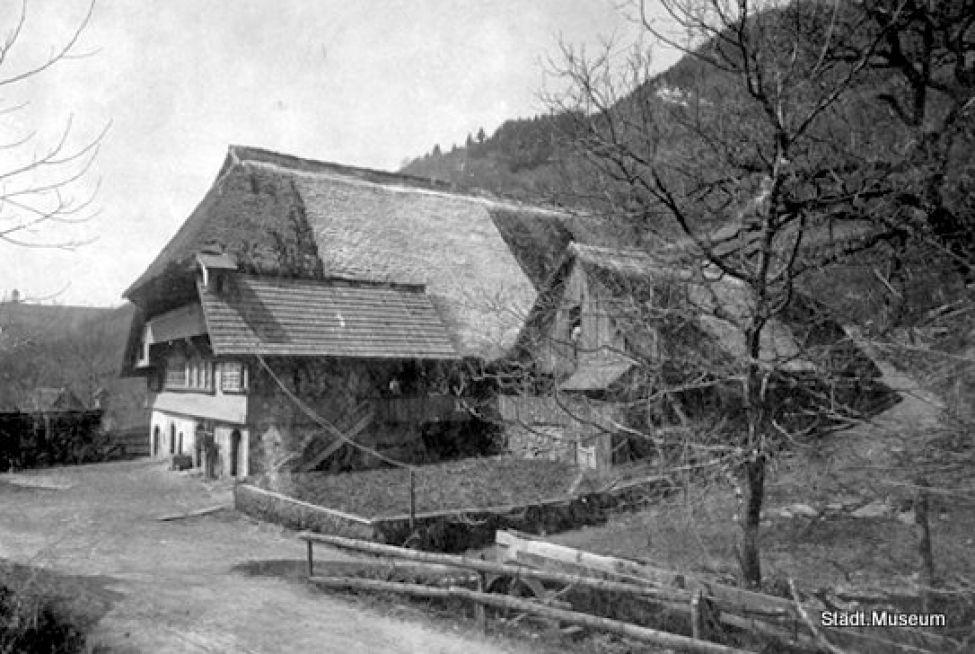 1493 Hermeshof 1915abgebrabbt1917
