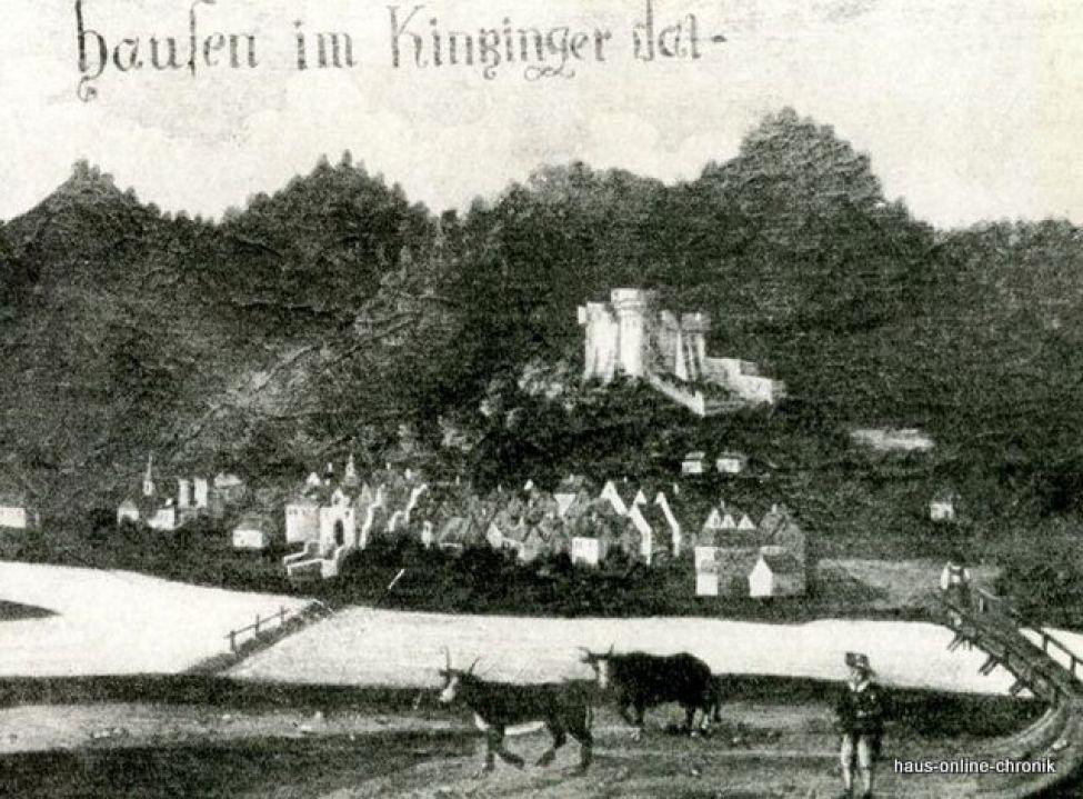 1491 Hausen Im Kinzinger Dal