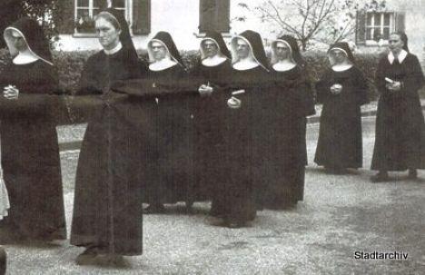 Gesundheit Und Pflege Schwestern Prozession