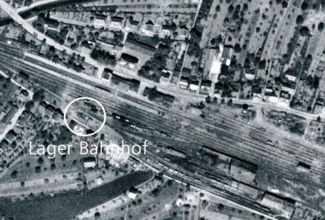 1941 B01 Lager Bahnhof