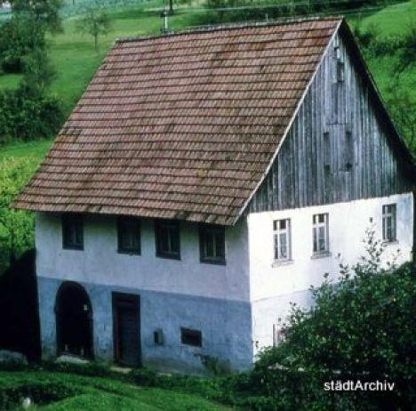 Bergbau Altes Zechenhaus