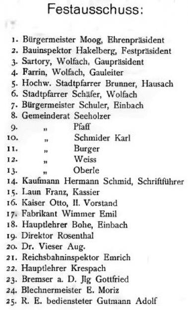 1928 A03 Festausschuss