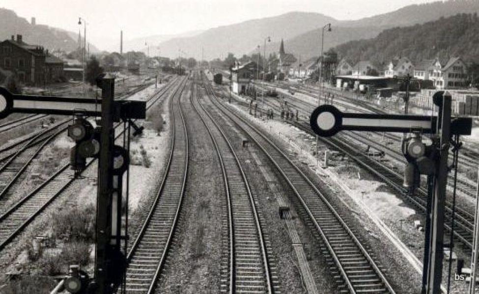 Eisenbahn Hausach Schienen