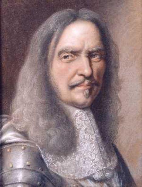 1648 Portrait Charles Le Brun Von Henri Turenne