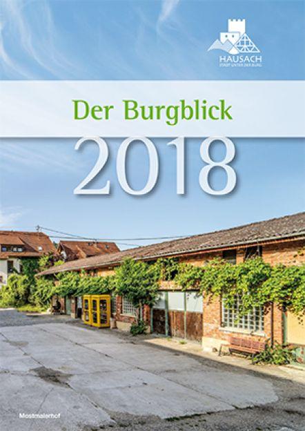 Burgblick Titelblatt 2018